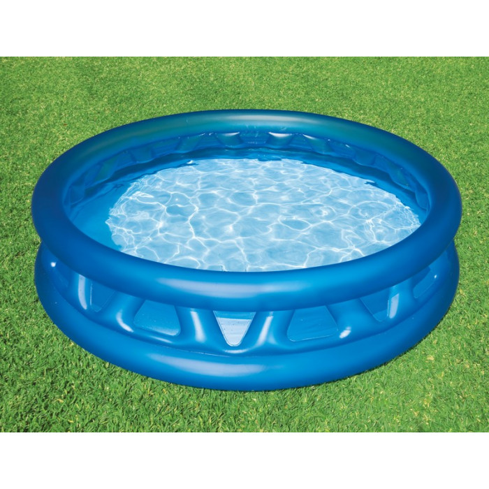 Piscine gonflable intex soft side pool for Piscine plastique