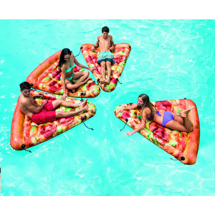 matelas gonflable intex part de pizza raviday piscine. Black Bedroom Furniture Sets. Home Design Ideas