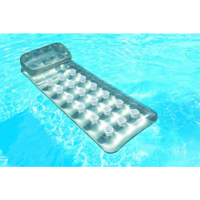 Matelas gonflable de piscine intex suntanner achat sur for Piscine gonflable intex