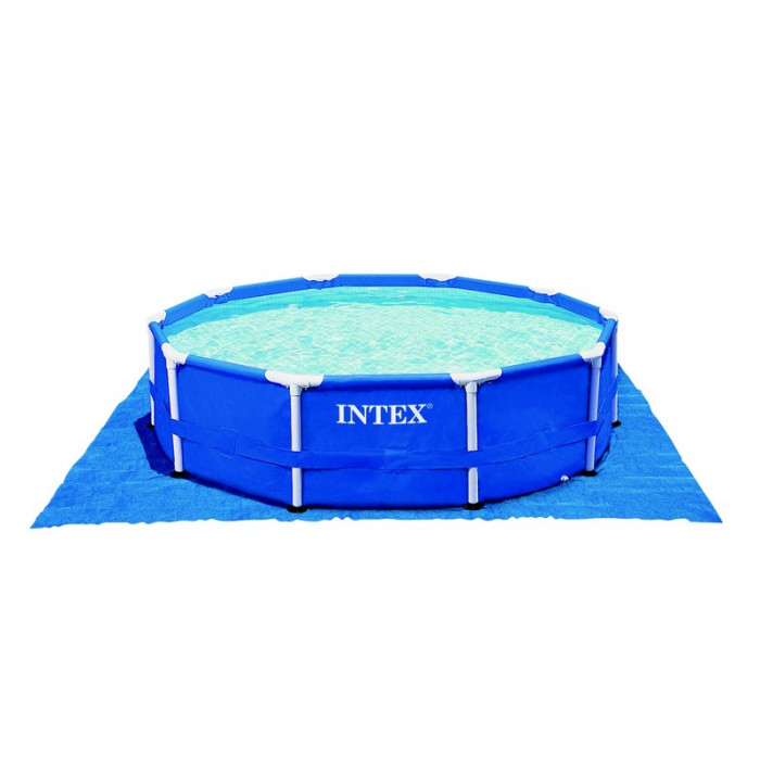 B che de sol pour piscine intex jusqu 39 m for Bache piscine intex 4 57