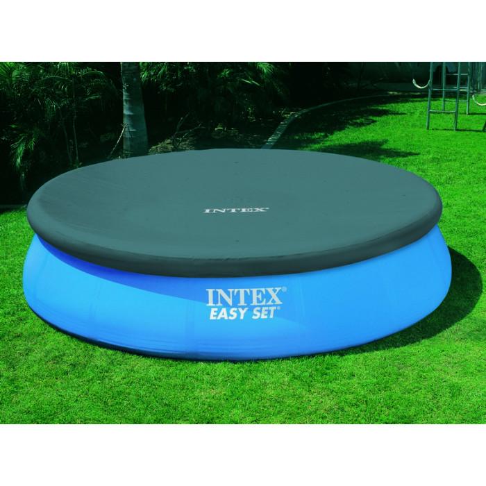 Bâche pour piscine autoportée ronde INTEX 2.44 m