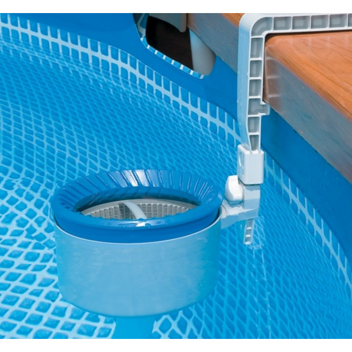 Piscine tubulaire intex ultra silver x x m for Volet skimmer piscine hors sol
