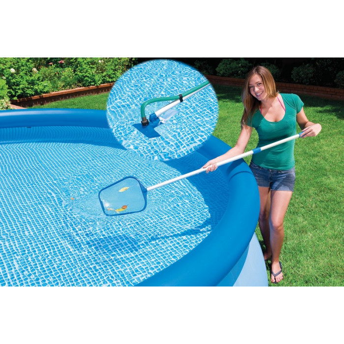 Kit d 39 entretien pour la piscine intex 28002 - Aspirateur piscine hors sol intex ...