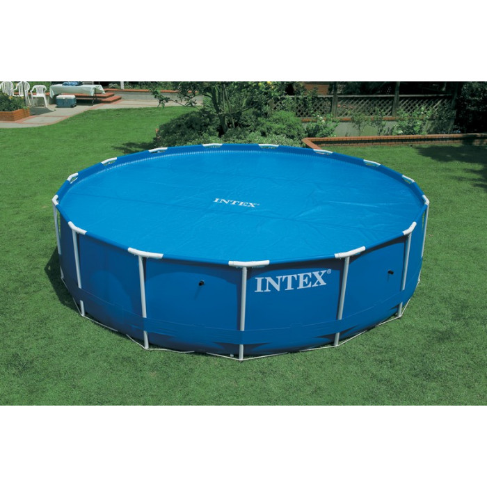 B che bulles pour piscines rondes intex m for Bache piscine intex 3 05