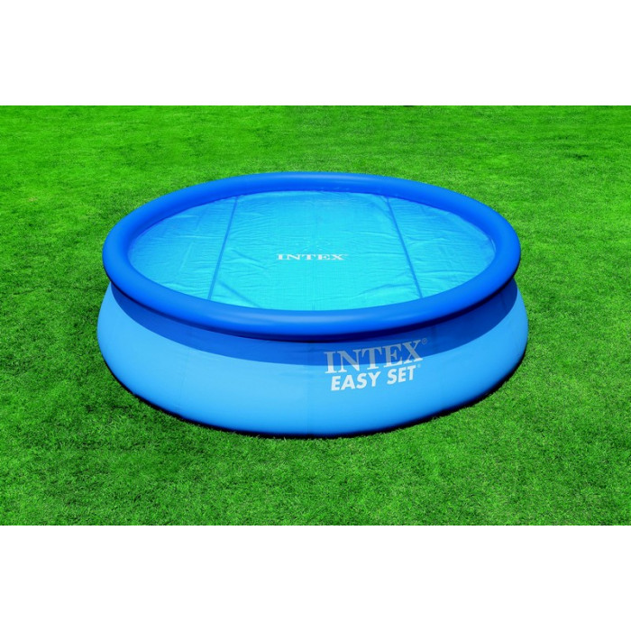 Bache a bulle piscine ronde intex for Bache piscine intex