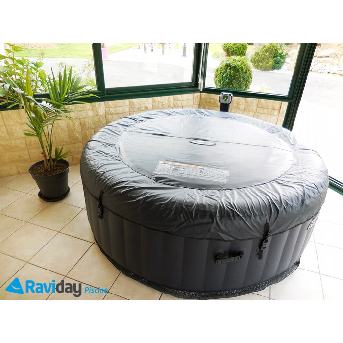spa gonflable intex pure spa plus 4 places. Black Bedroom Furniture Sets. Home Design Ideas