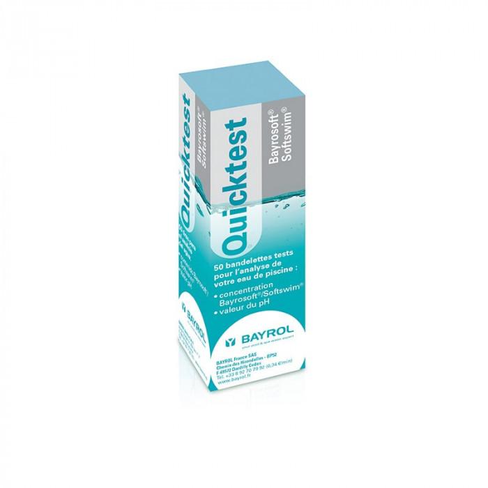 Bayrosoft® Quicktest - Bandelettes Test pH et Oxygène Actif