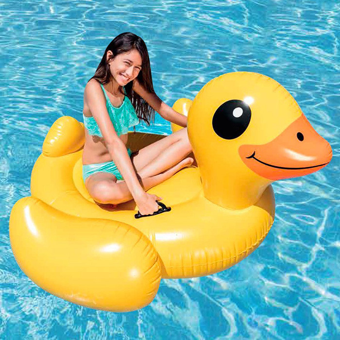 Canard gonflable intex for Piscine intex gonflable
