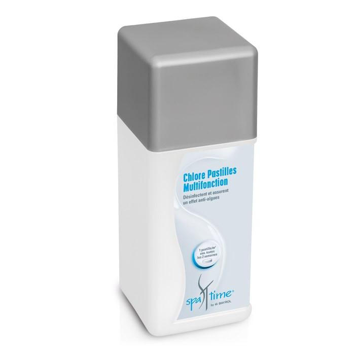 Chlore pastilles spa time bayrol 1kg chlore - Pastille chlore piscine gonflable ...