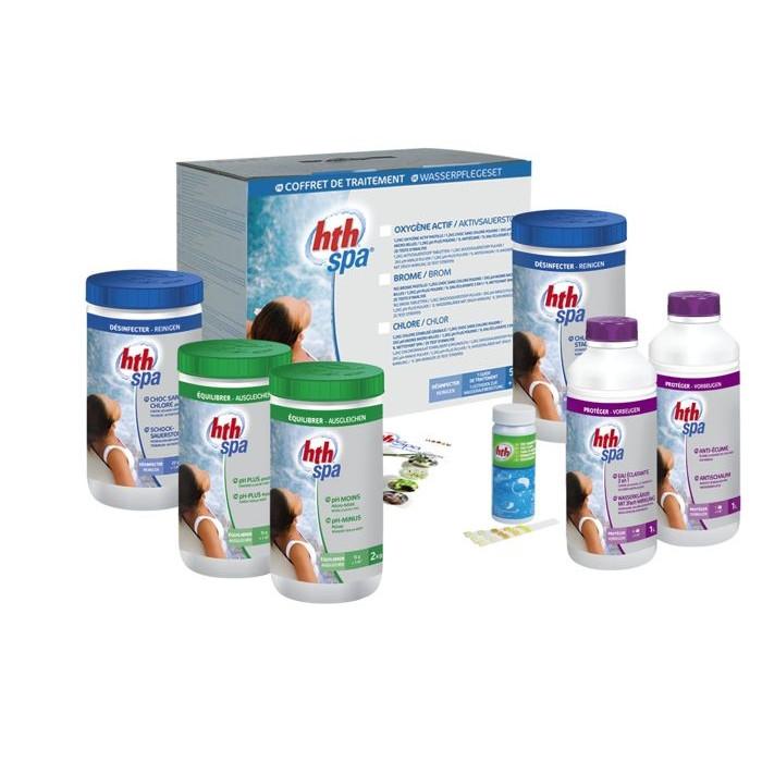 hth Spa - Kit de traitement au chlore