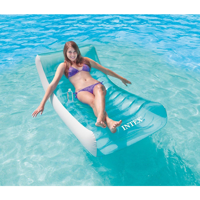 fauteuil gonflable pour piscine intex ghost achat sur. Black Bedroom Furniture Sets. Home Design Ideas