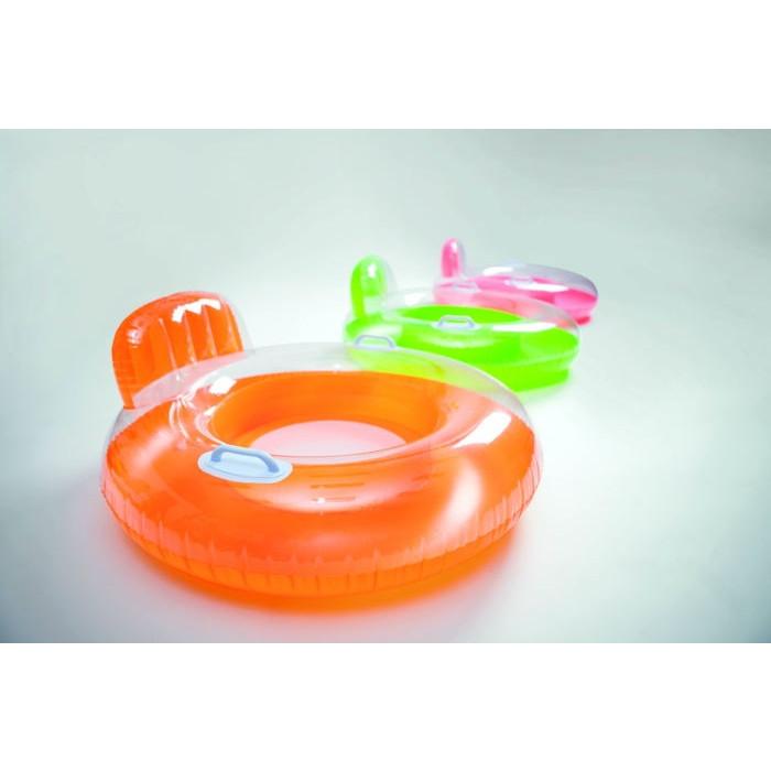 Fauteuil gonflable pour piscine candy color intex for Fauteuil gonflable piscine intex