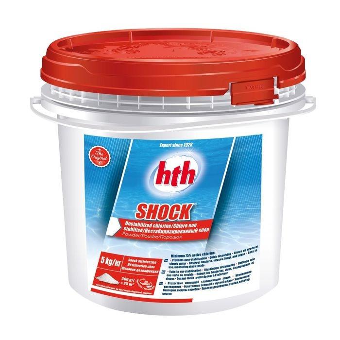 hth Shock Chlore non stabilisé en poudre - 5 kg