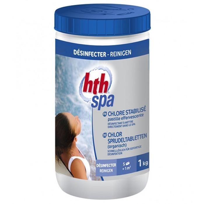 Hth spa chlore stabilis en pastilles effervescentes - Pastille chlore piscine gonflable ...