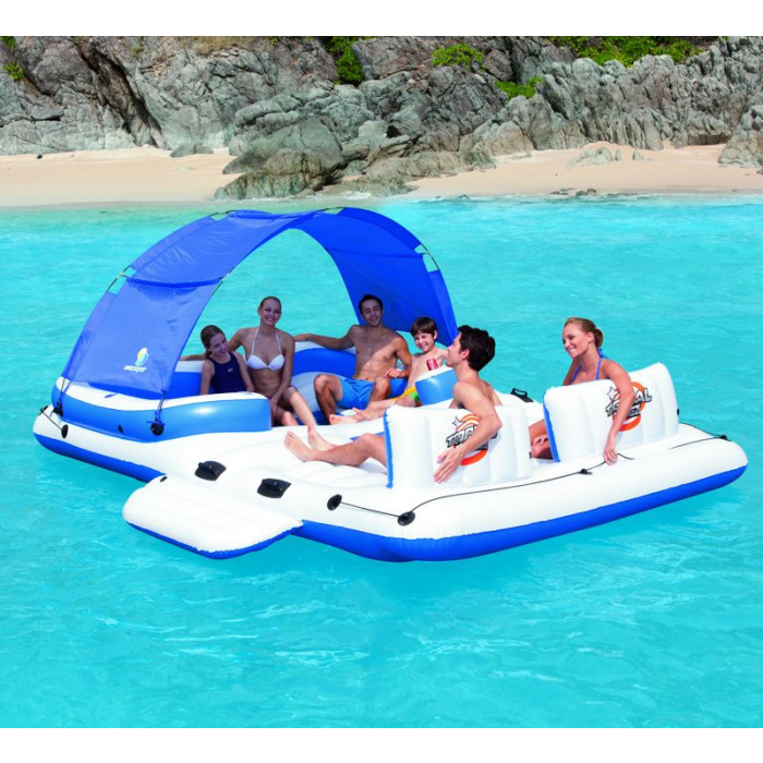Ile gonflable bestway tropical breeze for Photo piscine gonflable