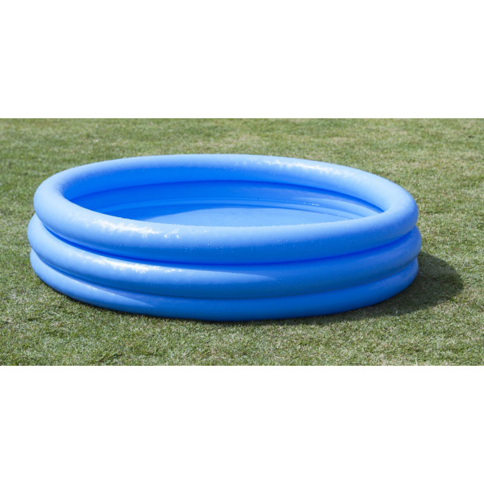 Piscine gonflable intex bleu cristal for Piscine gonflable intex