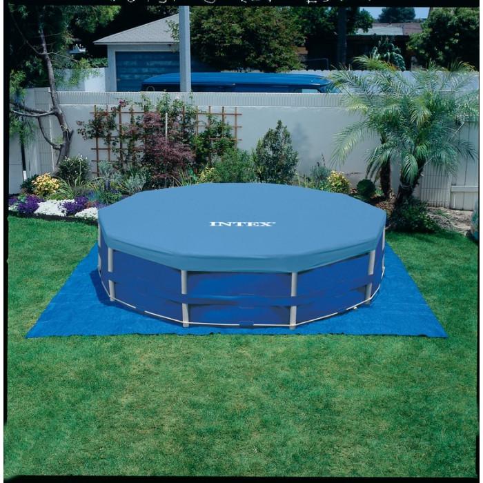kit piscine tubulaire intex metal frame pool x m. Black Bedroom Furniture Sets. Home Design Ideas