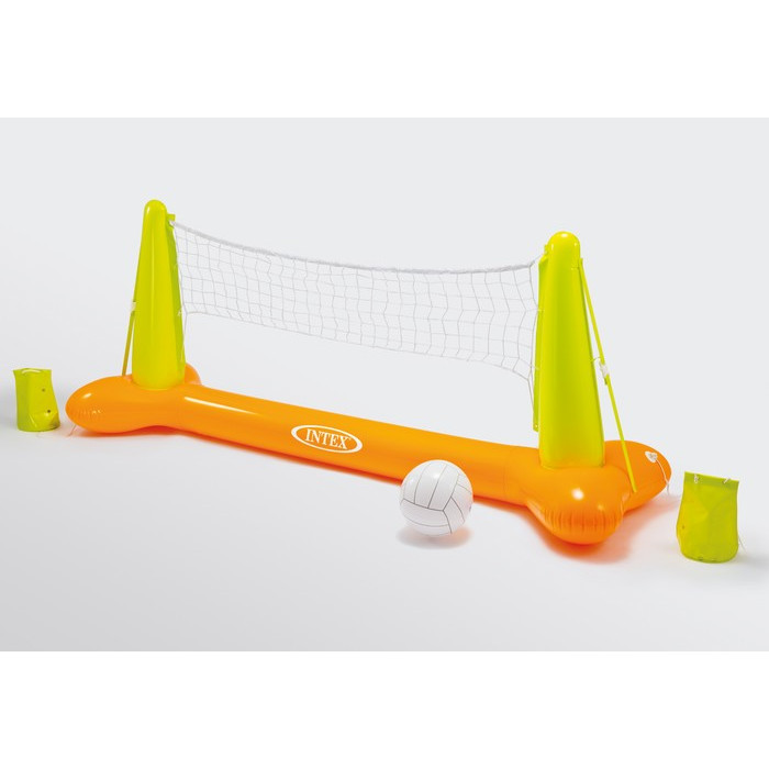 Filet de volley gonflable pour piscine intex jeu de for Filet aspirateur piscine