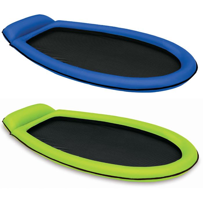 Matelas gonflable piscine intex semi immerg maille for Matelas piscine intex