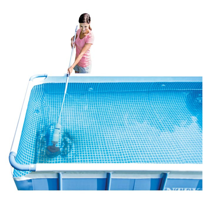 Aspirateur pour piscine et spa intex batterie raviday for Aspirateur piscine occasion