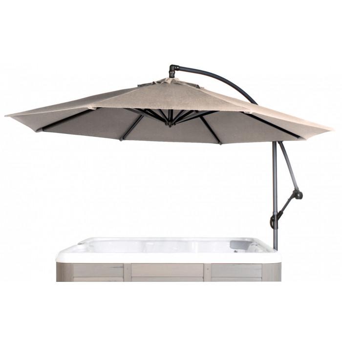 parasol pivotant 360 avec socle pour spa gonflable. Black Bedroom Furniture Sets. Home Design Ideas