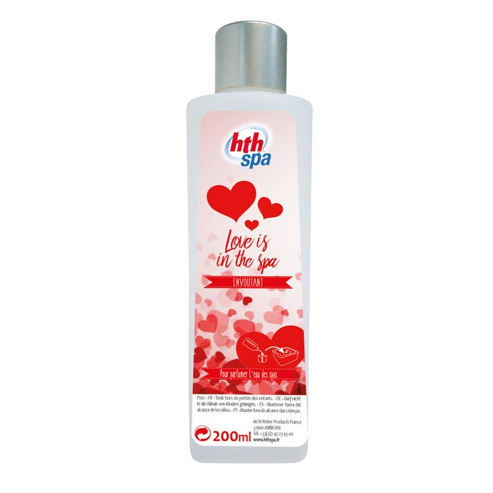 """HTH Spa 200ml - Parfum """"Love is in the spa"""""""