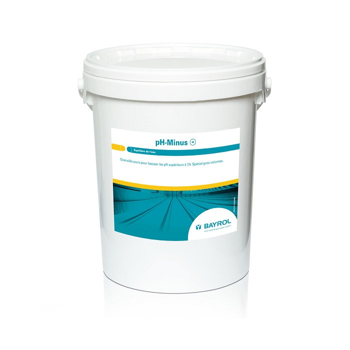 Granulés pH Minus 18kg Bayrol