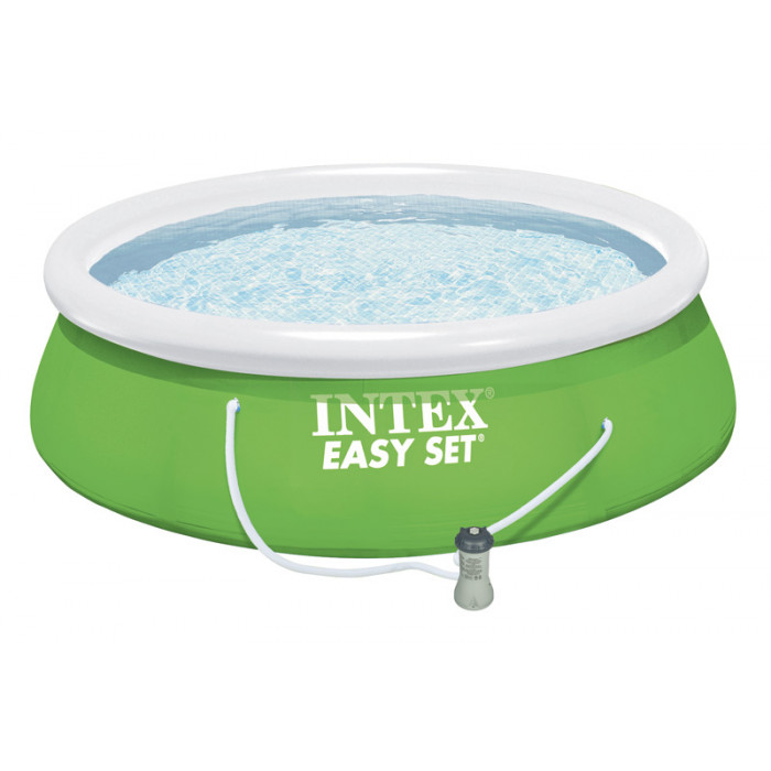 Piscine gonflable intex easy set x m epurateur for Easy piscine