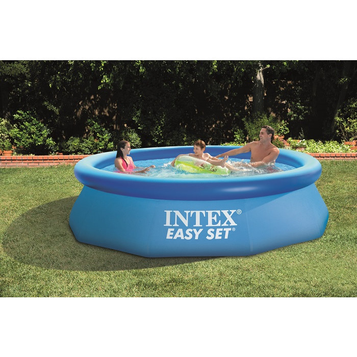 Piscine autoport e intex easy set x avec purateur for Easy piscine