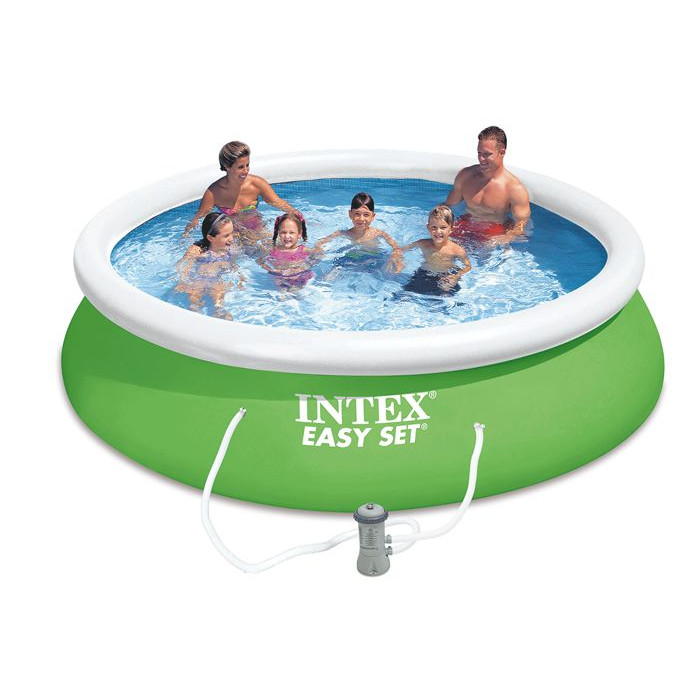 Piscine gonflable intex easy set x m epurateur for Piscine 95