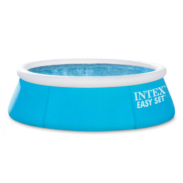 Piscine gonflable intex easy set x pour enfant for Piscines autoportees