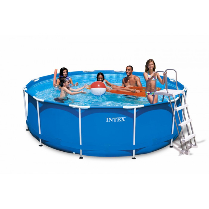 Piscine hors sol metal frame x for Intex liner piscine