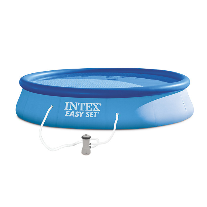 Piscine autoport e easy set intex x cm for Piscine easy set