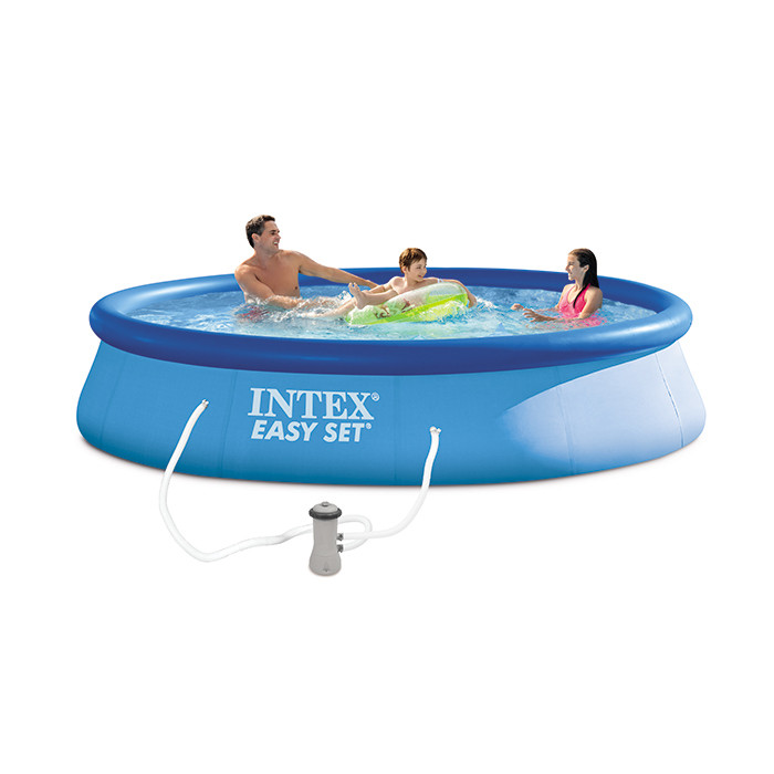 Piscine autoport e easy set intex x cm for Piscine easy set intex