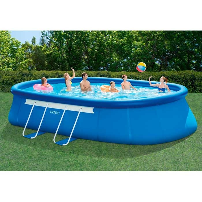 Piscine intex ellipse x x m achat sur for Prix piscine 6 x 3