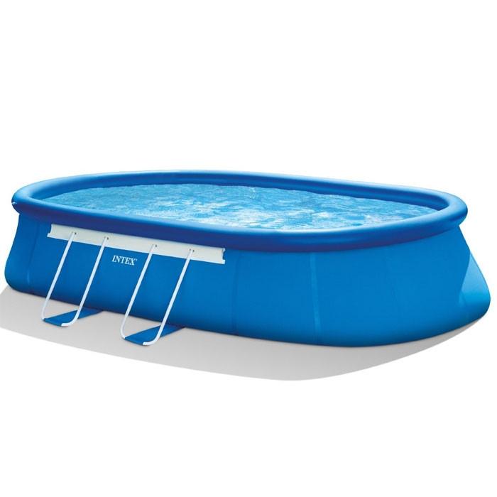 piscine intex ellipse x x m achat sur raviday piscine. Black Bedroom Furniture Sets. Home Design Ideas