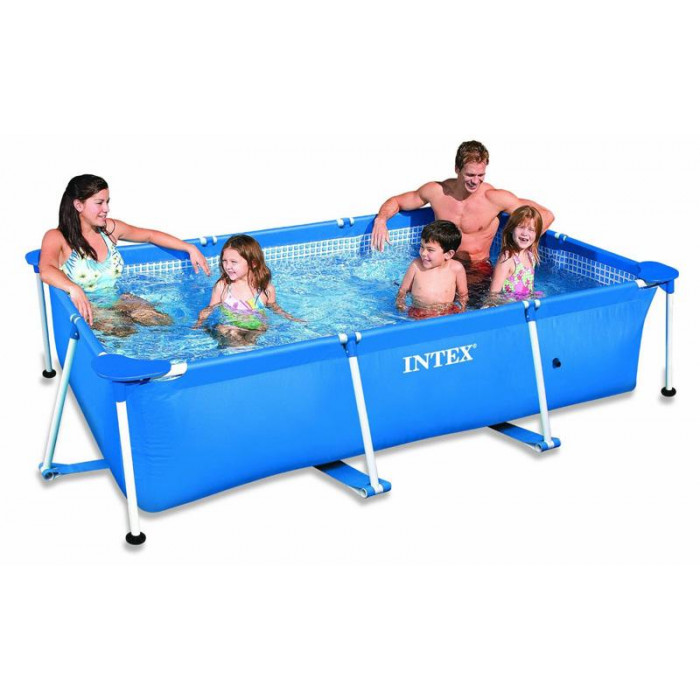 Intex metal frame junior x x m achat for Achat piscine intex