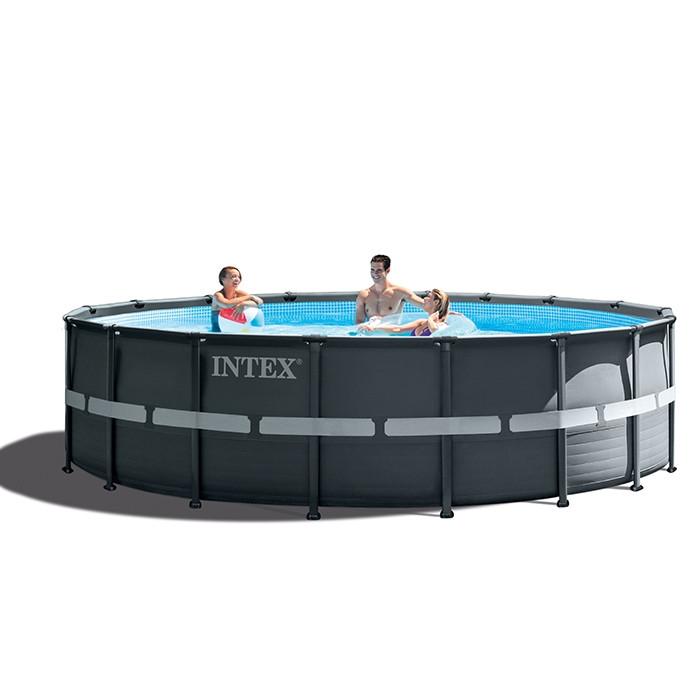 piscine tubulaire intex ultra xtr frame 4 88 x 1 22m. Black Bedroom Furniture Sets. Home Design Ideas