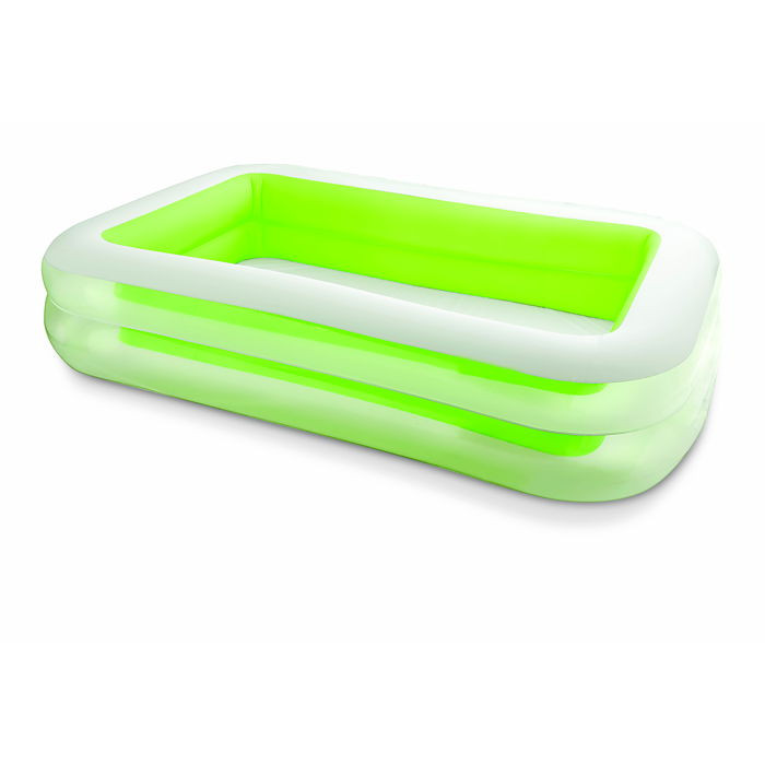 Piscine gonflable rectangulaire family intex for Piscine gonflable chauffante