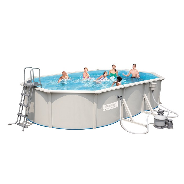 Piscine tubulaire bestway hydrium 6 10 x 3 60 x 1 20 m for Piscine rectangulaire bestway