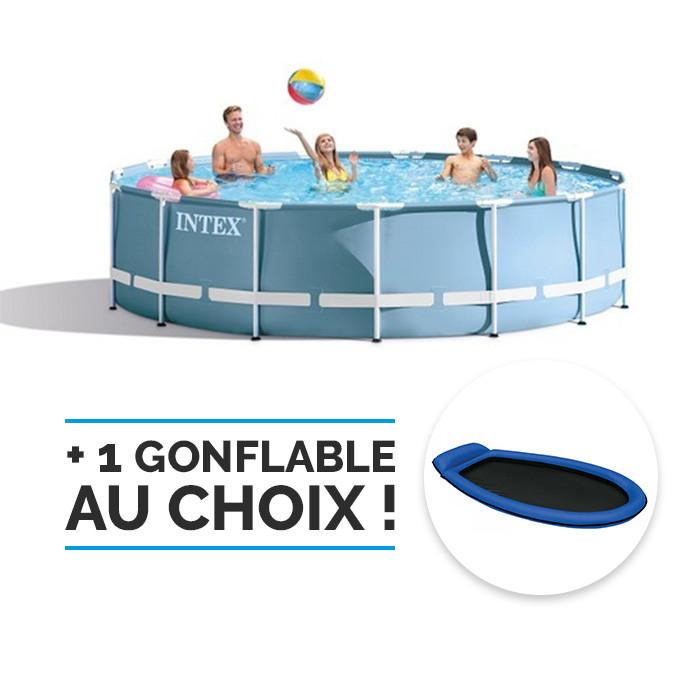 piscine intex prism frame 4 57 x 0 84 m piscine. Black Bedroom Furniture Sets. Home Design Ideas