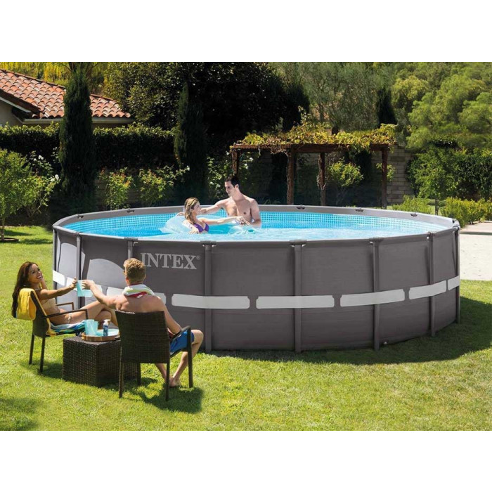 Piscine Tubulaire Intex Ultra Frame 5.49 X 1.32 M