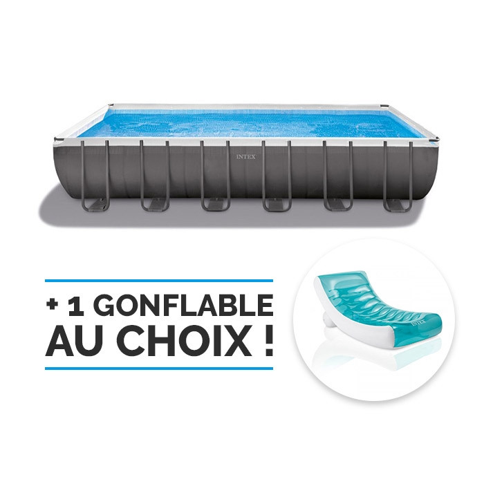 Piscine tubulaire Intex Ultra Silver 9,75 x 4,88 x 1,32 - RAVIDAY 64b71d479f7