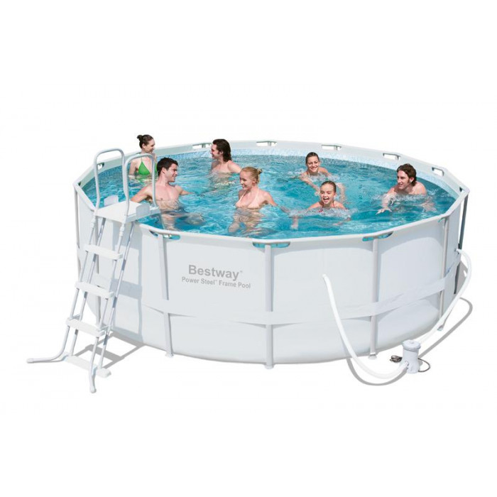 Piscine bestway power steel frame x m ep for Bestway piscine catalogo