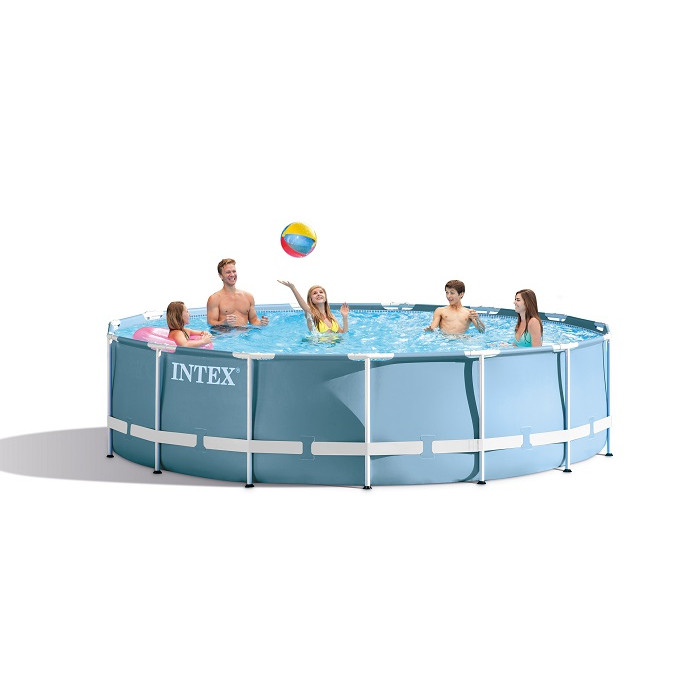 Piscine intex prism frame 4 57 x 0 84 m piscine for Piscine ronde intex