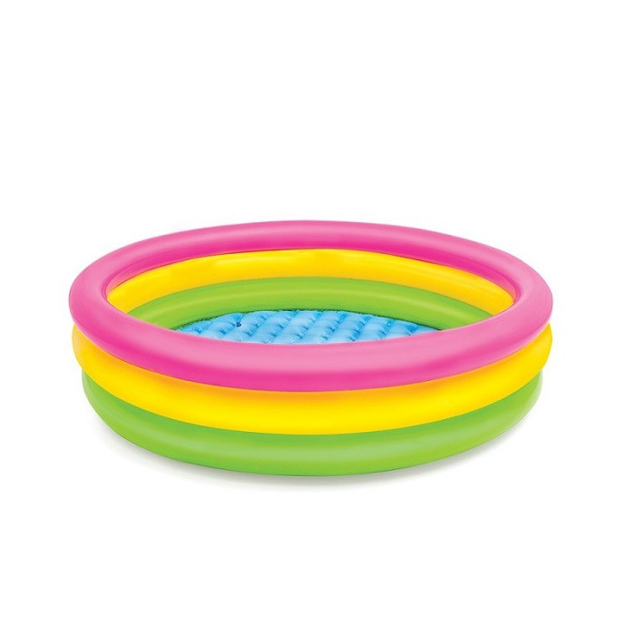 Piscinette gonflable INTEX Sunset glow XL