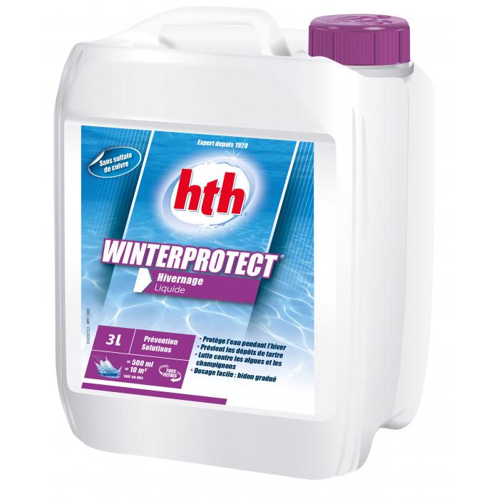 Hth winterprotect 3l produit hivernage piscine for Produit piscine