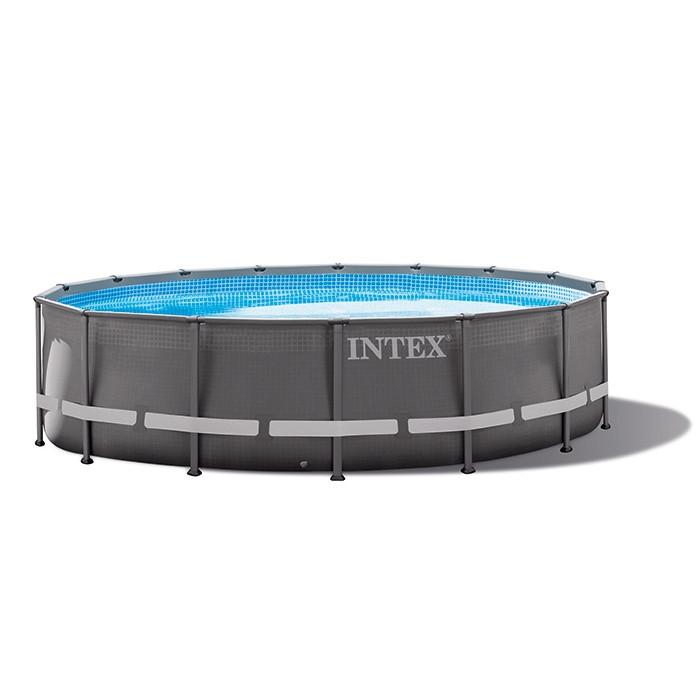piscine tubulaire ronde intex ultra xtr frame 4 27 x 1 22 m. Black Bedroom Furniture Sets. Home Design Ideas