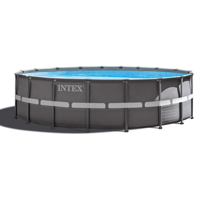 Piscine intex ultra frame 5 49 x 1 32 ref 28332 raviday for Intex prix piscine