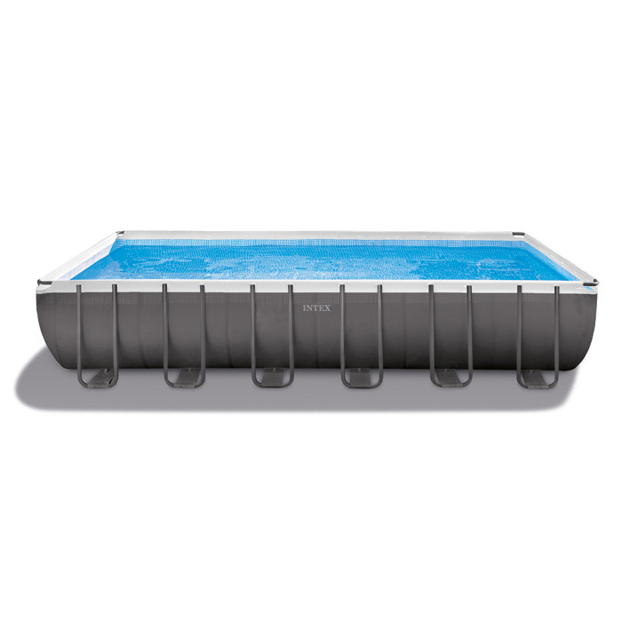 Piscine tubulaire intex ultra silver x x m for Bache piscine intex 3 66